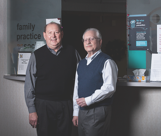 Picture of Dr. Simon and Dr. Pogorelec